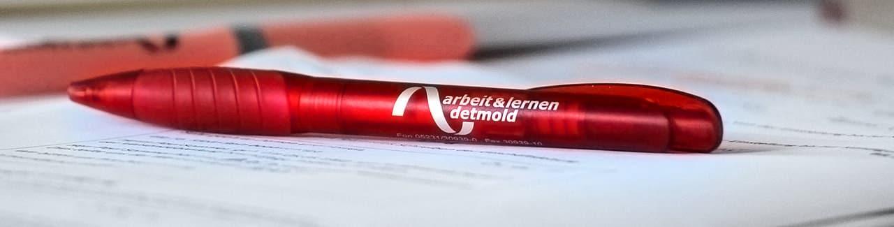 Kugelschreiber mit AuL Logo