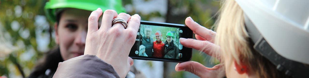 Fotografieren mit Smartphone