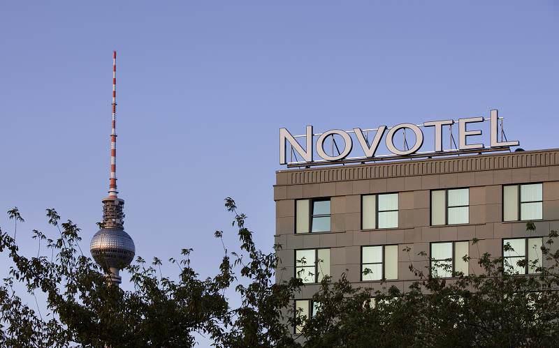 Novotel Hotel Berlin Aussenansicht