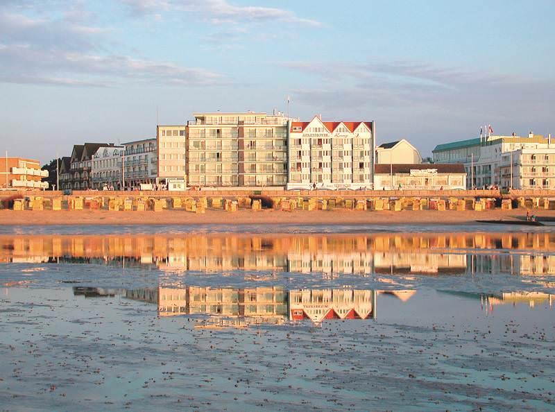 Cuxhaven Strandhotel Duhnen Aussenansicht