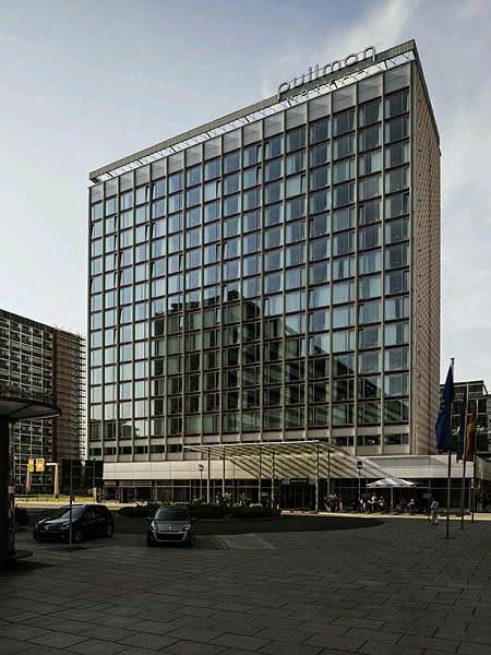 Pullmann Hotel Dresden Aussenansicht