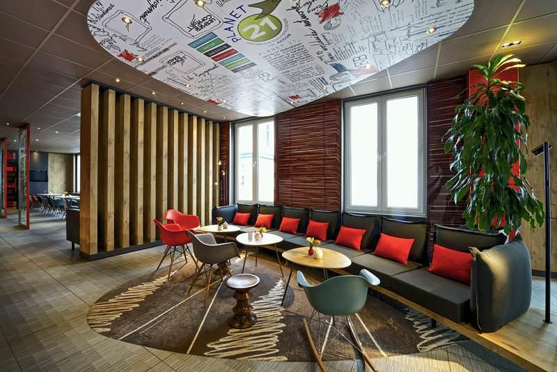 Ibis Hotel Hamburg Innenansicht
