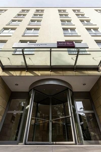 Mercure Hotel Hannover Mitte Aussenansicht