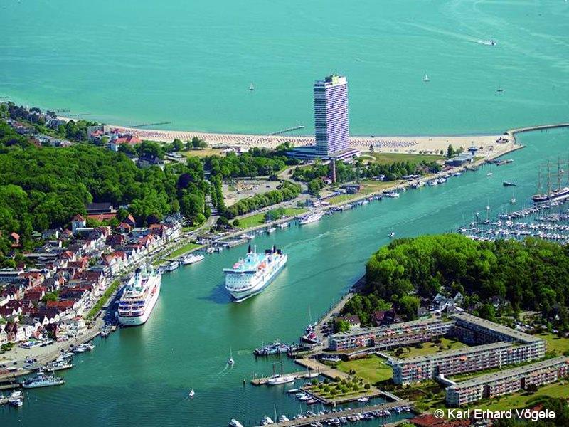 Hotel Maritim Travemünde Aussenansicht