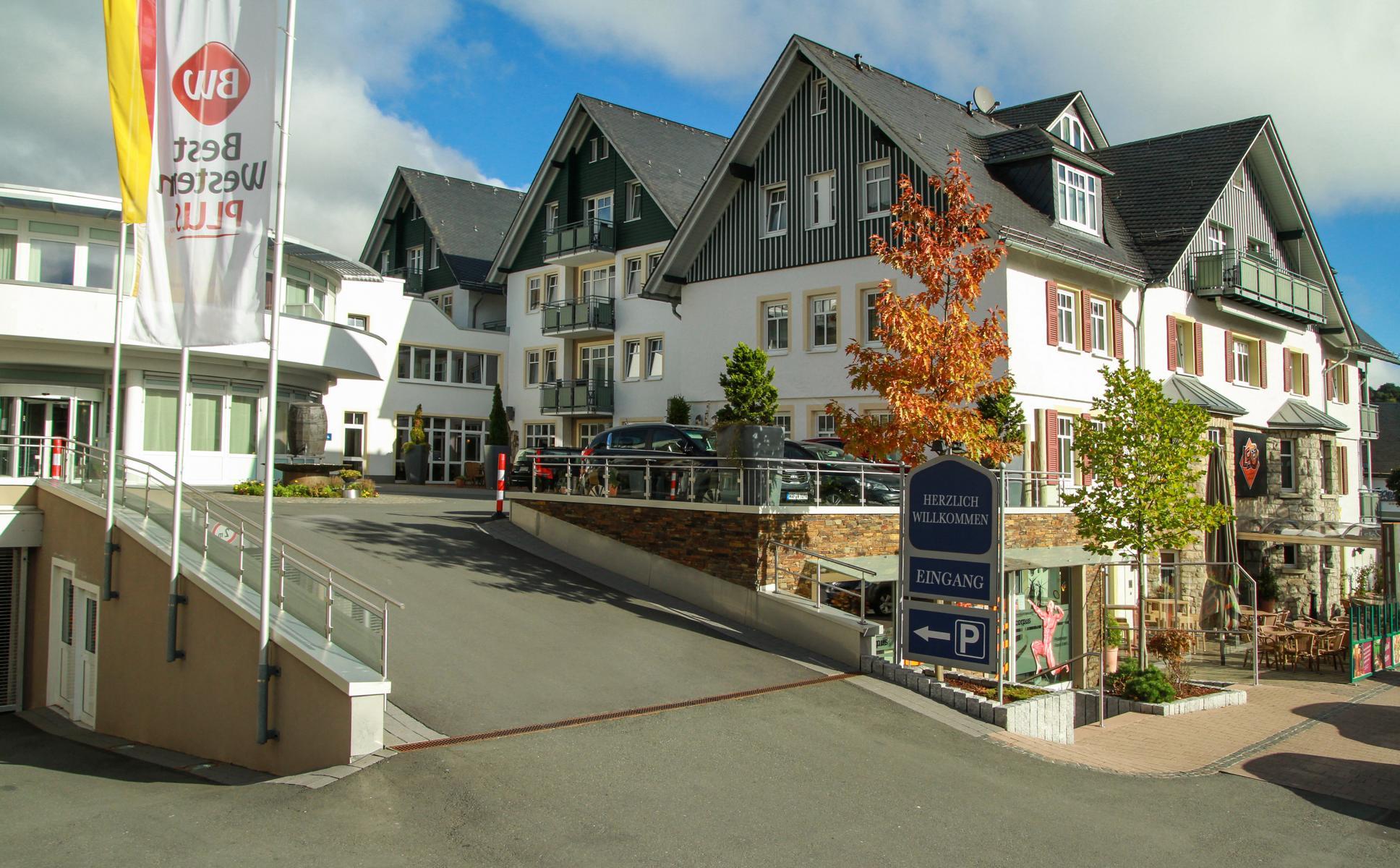 Best Western Hotel Willingen Aussenansicht