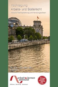 Download Flyer Fachtagung Arbeits- und Sozialrecht